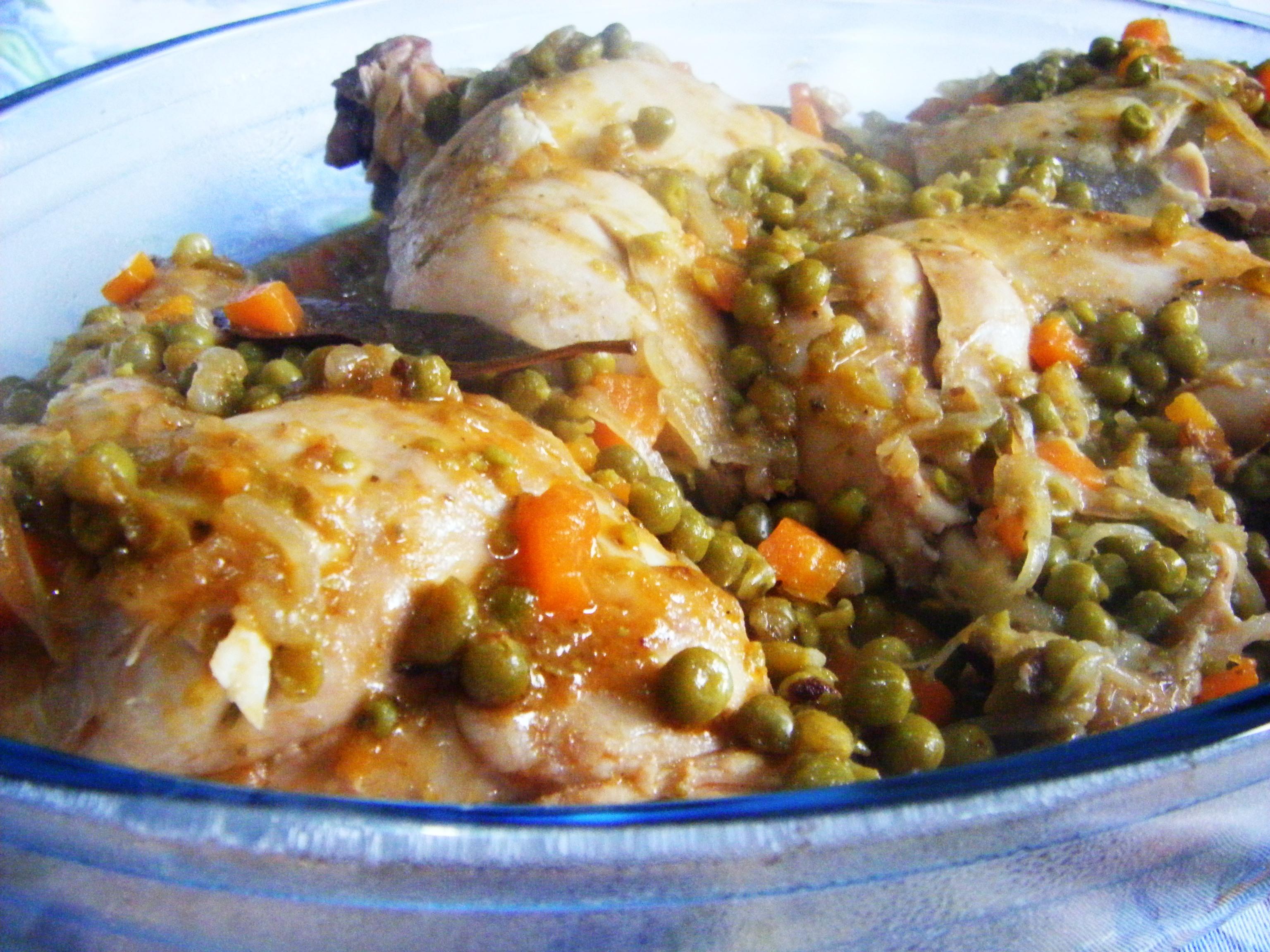 Ricette con petto di pollo e carote