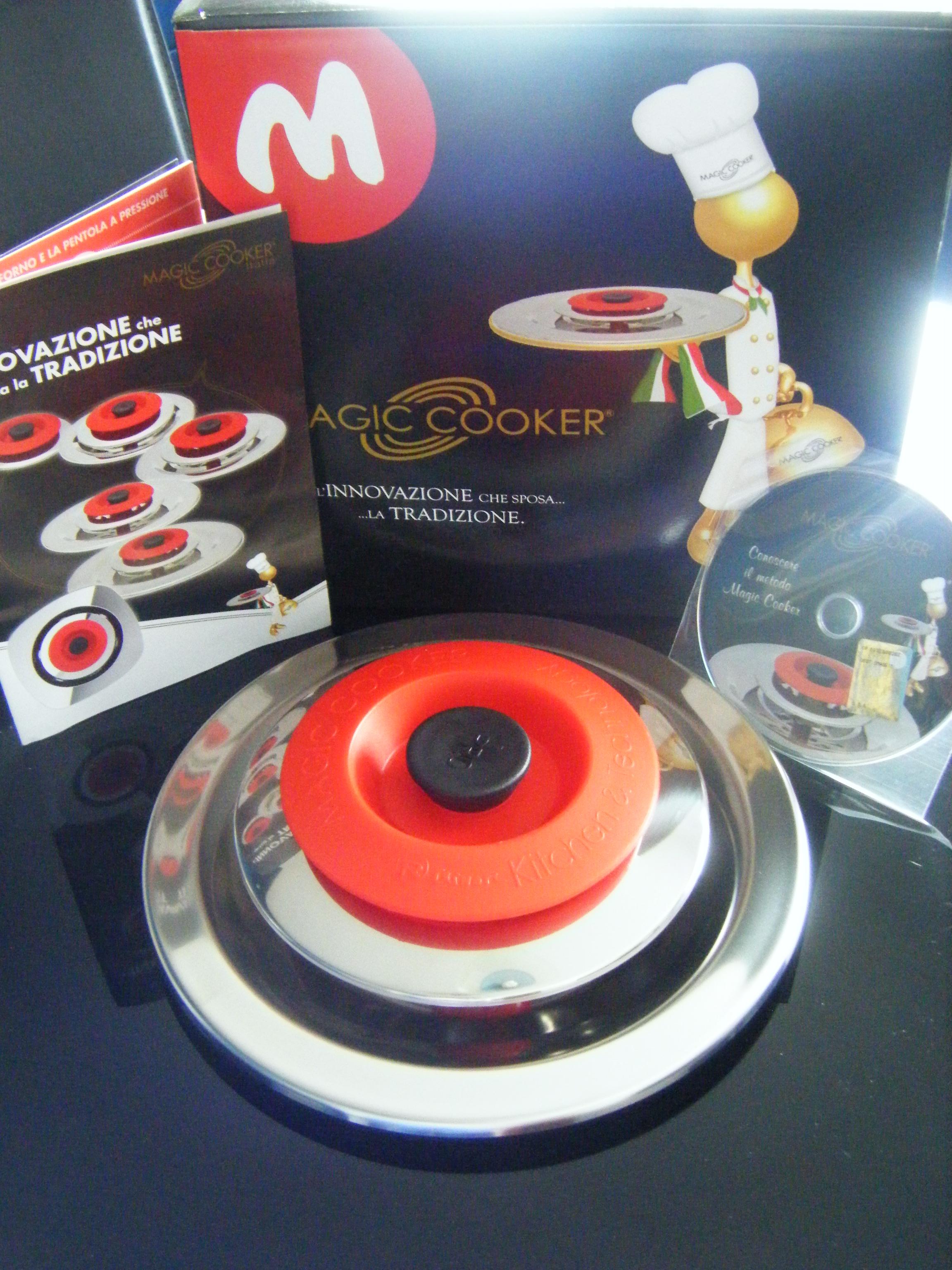 Magic cooker approda da pasticciando con rosy - Cucinare senza grassi ...