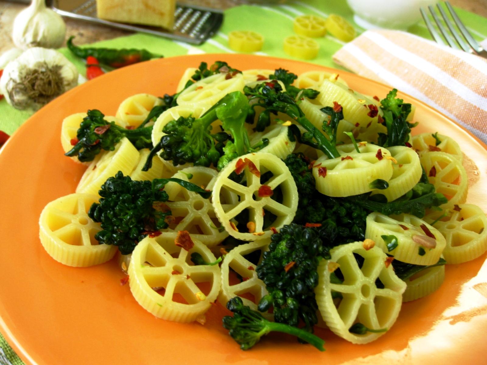 Pasta e broccoli - Pasticciando con Rosy