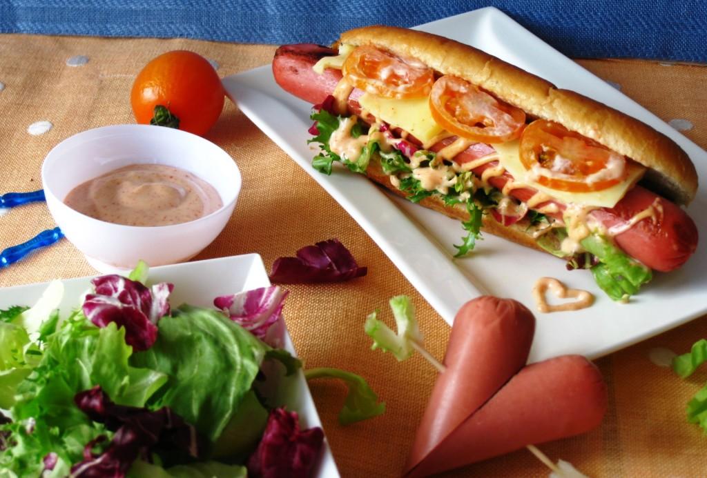 Hot Dog pomodoro