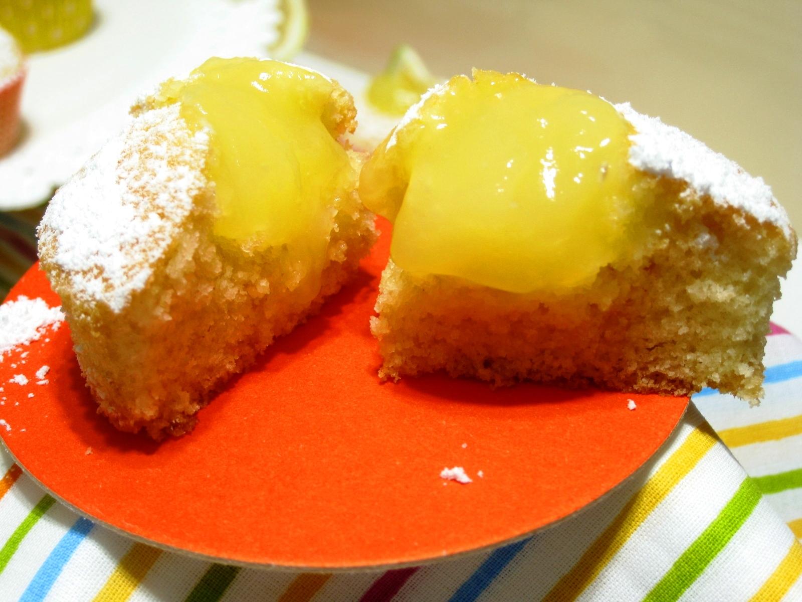 crema al limone muffin